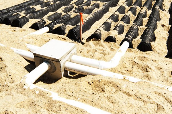 Quality septic drain field install flowery branch ga for Build a septic tank